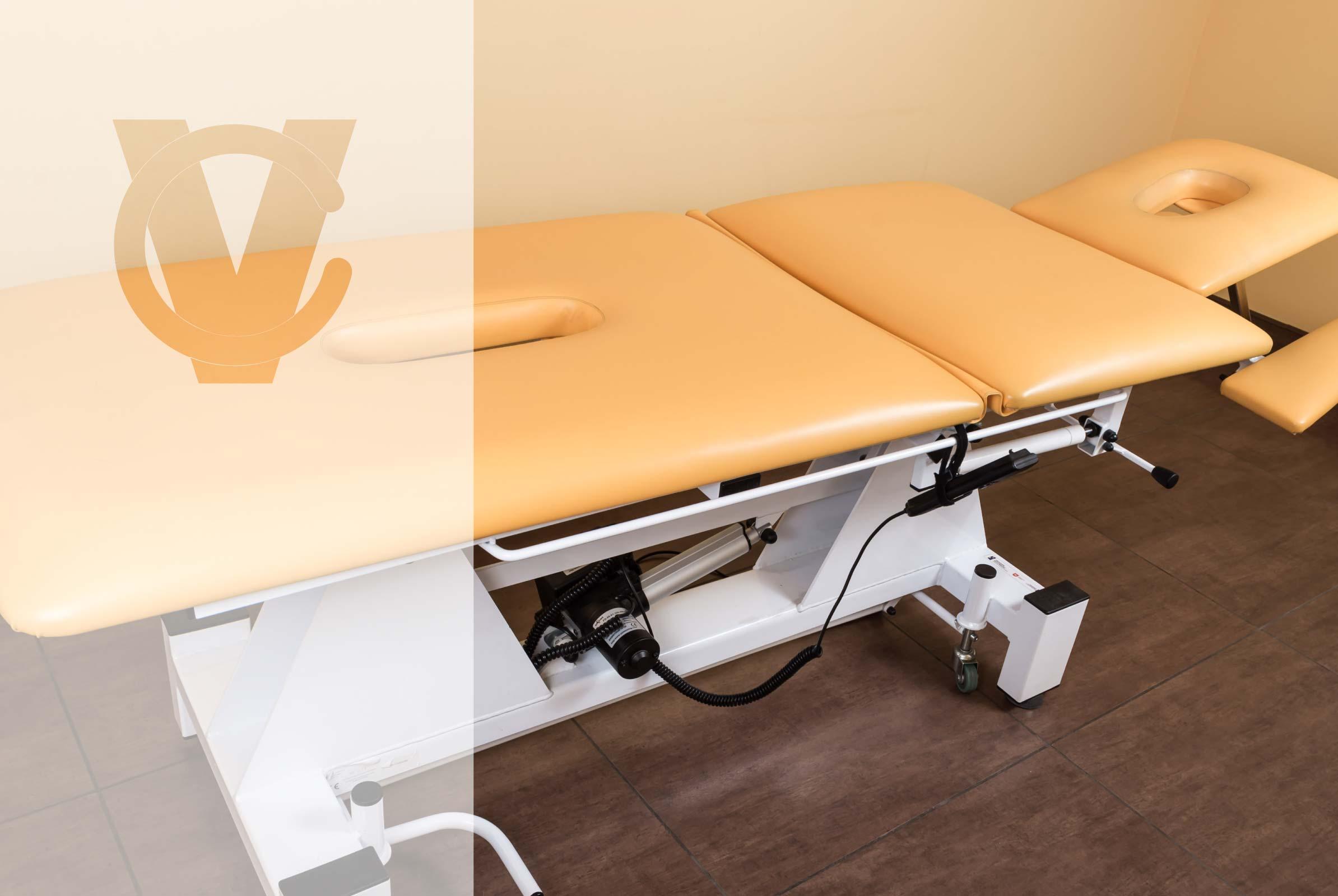 stół do masażu z elektryczną regulacją, Centrum Medyczne Vita, CM VITA, Urszulin