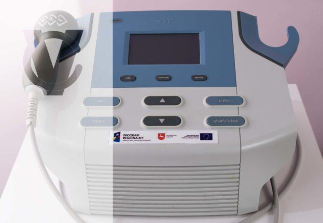aparat do ultradzwięków 2, CM VITA, Urszulin, rehabilitacja Urszulin, Centrum Medyczne VITA